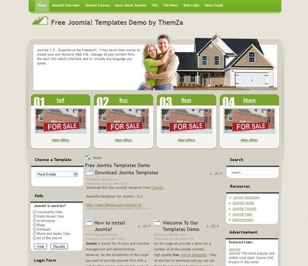 Real_Estate_joomla_template
