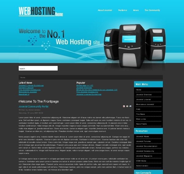 Blue_Web_Hosting_joomla_template