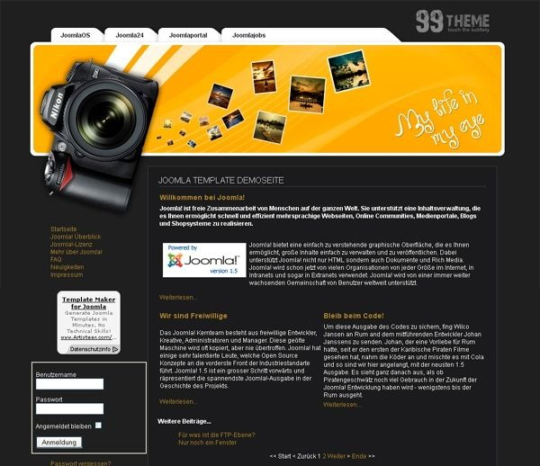 Photo_portfolio_joomla_template