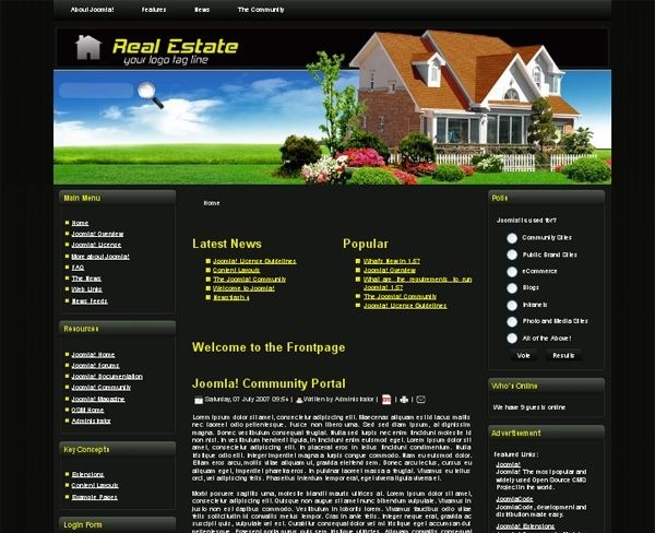 Real Estate_1_joomla_template