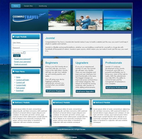 Cesmiro_Travel_joomla_template