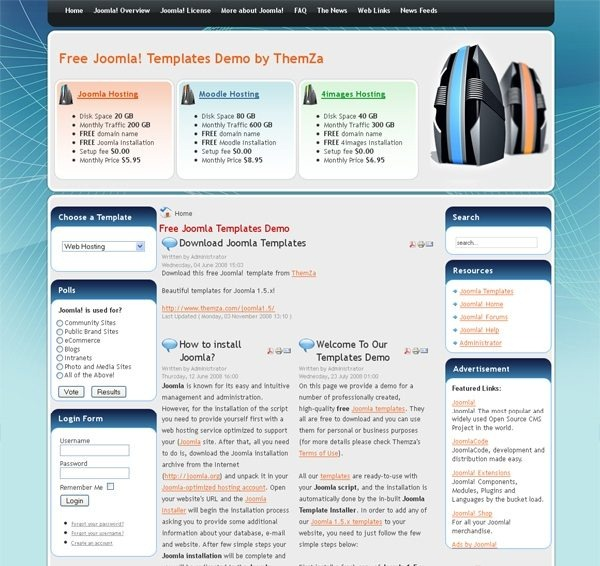 Web_Hosting_joomla_template