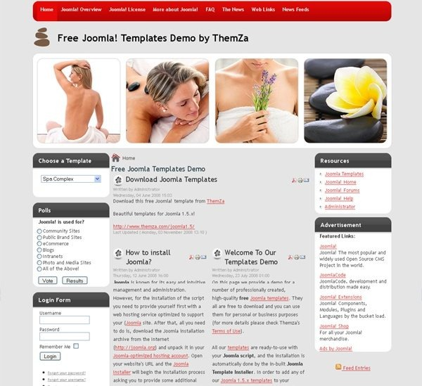 Spa_Complex_health_beauty_joomla_template