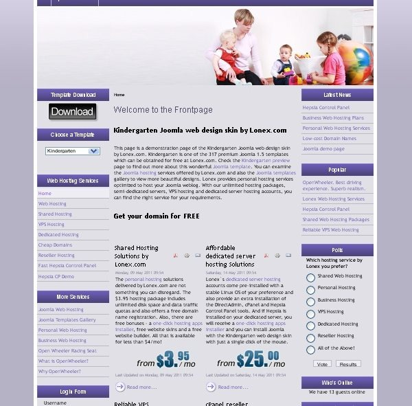 Kindergarten_education_joomla_template