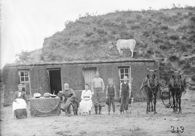 Как поднималась американская целина. Архивные фотографии поселенцев Великих равнин с конца 19–го века