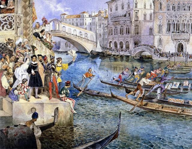 Мир до эпохи фотографии. 80 000 исторических акварельных картин в архиве онлайн