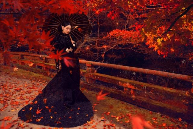 Китайская фэшн-фотография от Чэнь Мэн