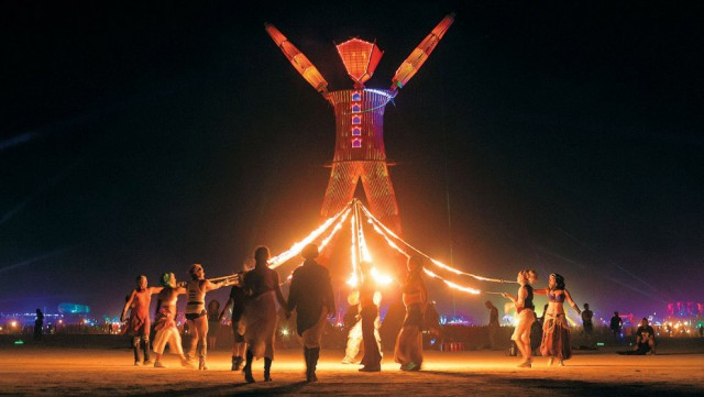 фестиваль burning man 2016 фото