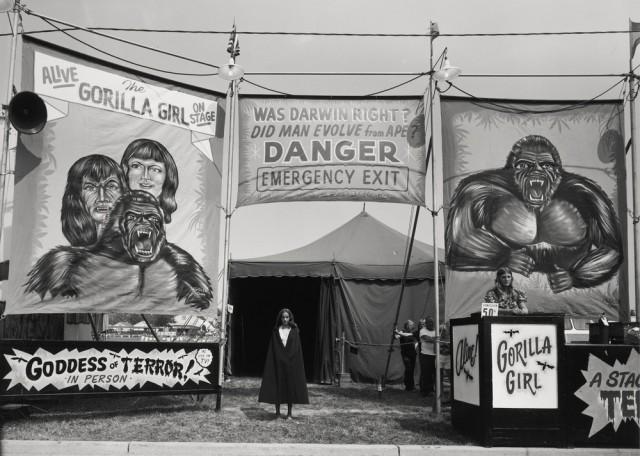 Американская история ужасов: реальные бродячие цирки в документальном фотопроекте Рэндала Левенсона 1971-81гг