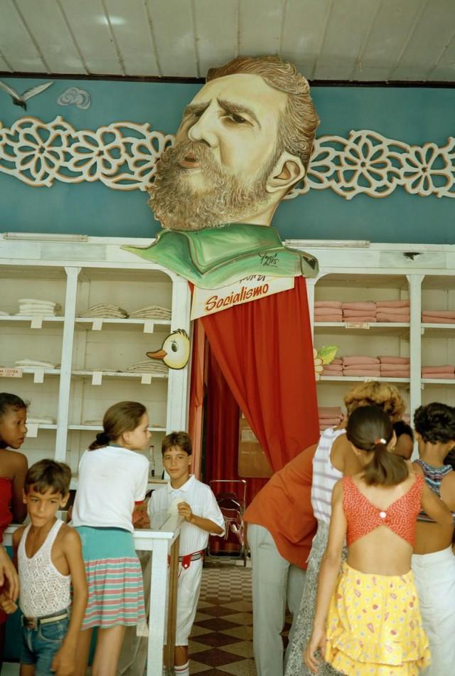 Все краски Кубы в 1990-е годы на фотографиях Триа Джован