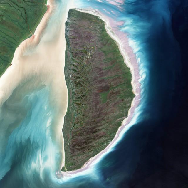26 потрясающих снимков Земли из космоса, в которых можно прочитать буквы алфавита
