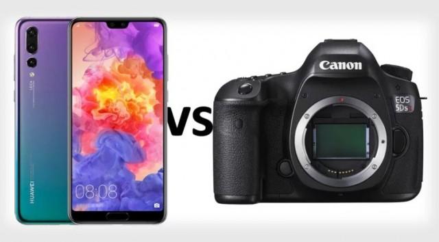 Камера телефона против фотоаппарата