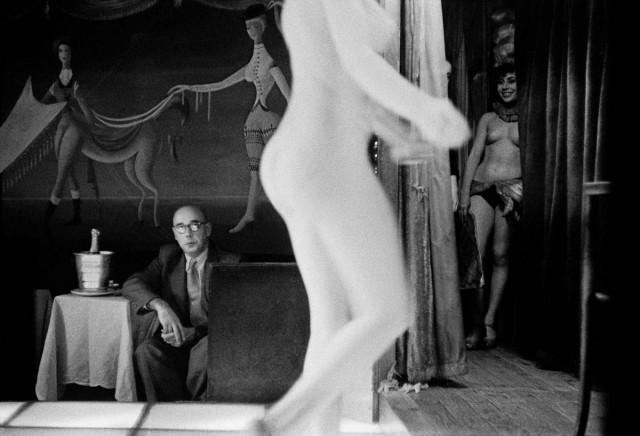 «Ночной Париж» Франка Хорвата в фотографиях 1956 года
