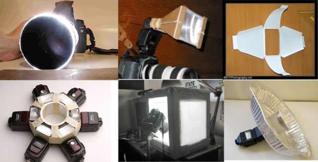 Как самому сделать отражатель для фотографа