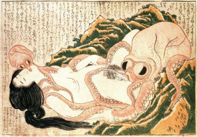 Эротические сексуальные гравюры