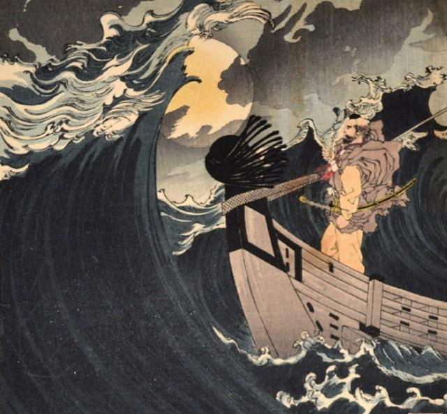 «Сто видов Луны» – величайшие гравюры последнего мастера укиё-э Цукиока Ёситоси