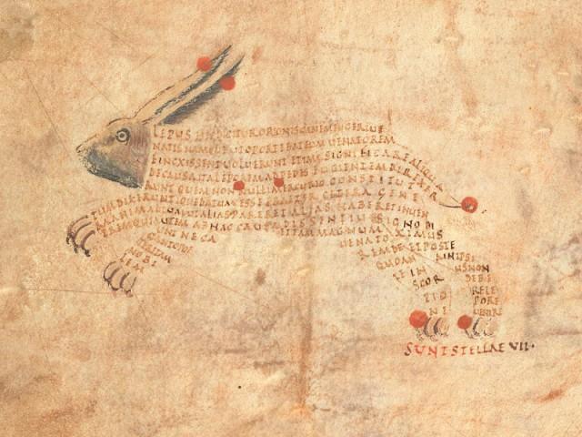 «Арат»: астрономия и искусство каллиграммы в манускрипте 9-го века
