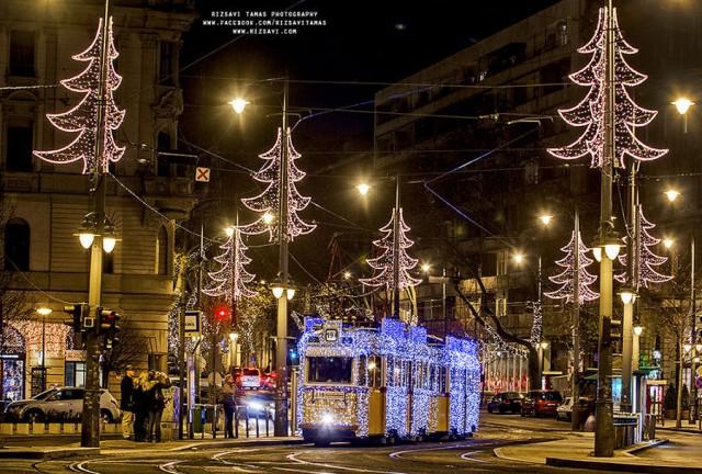 Волшебные фотографии рождественского Будапешта