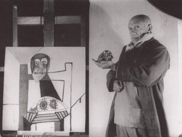 «Лица художников как бы в полёте»: фотопортреты знаменитых живописцев Мишеля Сима