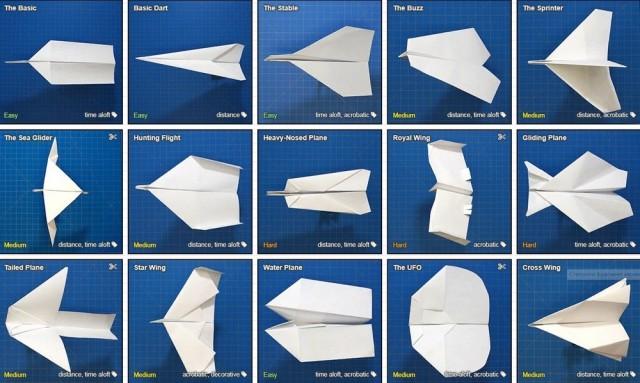 Как складывать бумажные самолётики – база с пошаговыми инструкциями для всех моделей