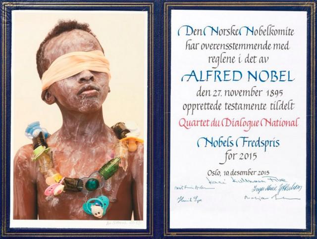 Искусство иллюстрации: что скрывает обложка диплома Нобелевского лауреата?