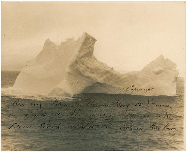 Фотография айсберга погубившего Титаник