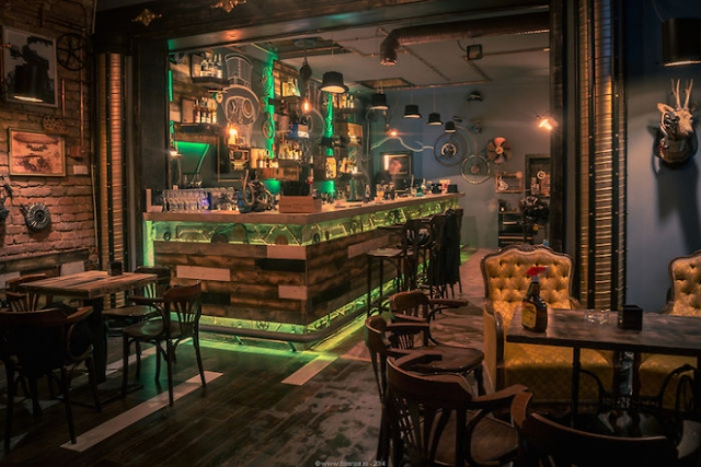 Самые лучшие интерьеры баров