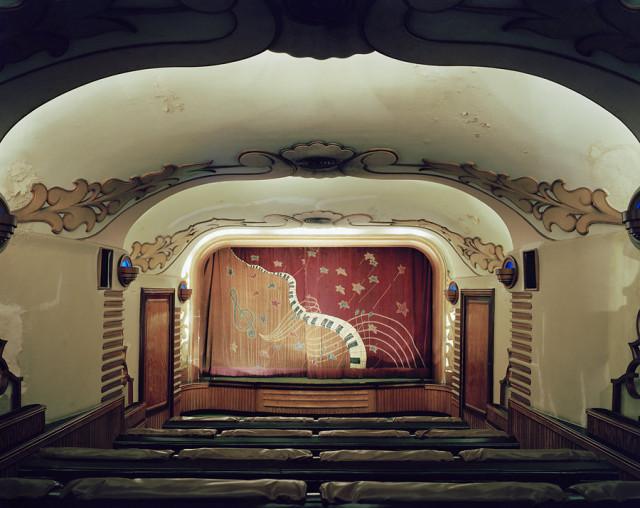 Кинотеатры мира в фотопроекте Стефана Заубицера: «В этих залах есть ощущение тайны»