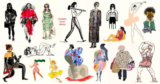 Женщины, которые рисуют: онлайн-каталог 5000 иллюстраторов со всего мира