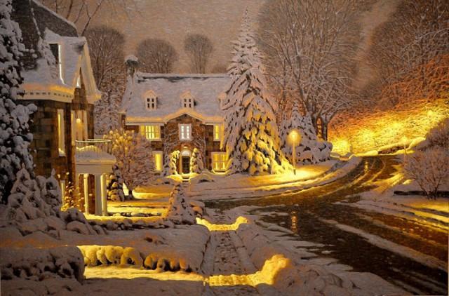 Волшебные картины канадского художника Ричарда Савойя