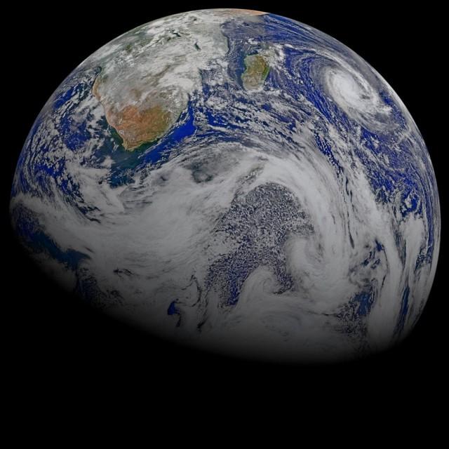 25 захватывающих фотографий Земли из космоса