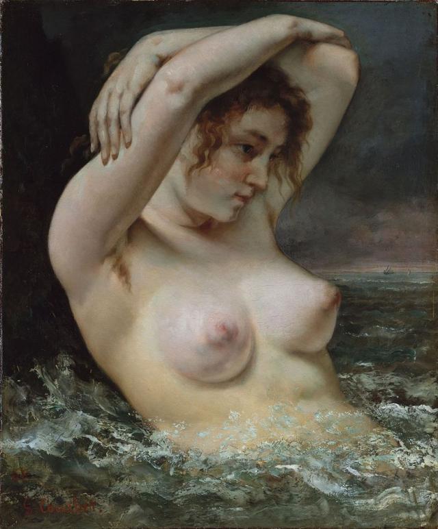 Картина голой бабы