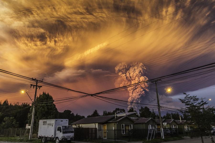 Извергающийся вулкан Кальбуко в Чили - 21 потрясающее фото