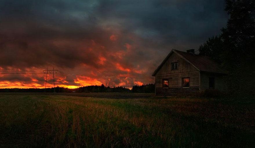 Вдохновляющие ночные фотографии финского фотографа Микко Лагерстедта-7