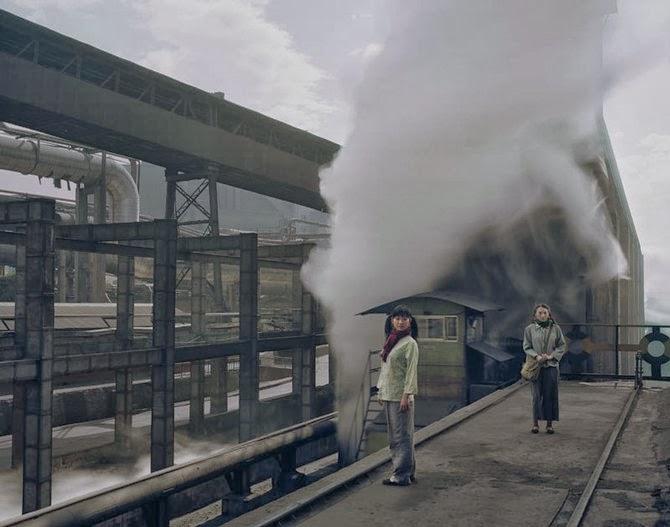 Заброшенные городские и промышленные пейзажи Китая. Фотограф Чен Чжаган