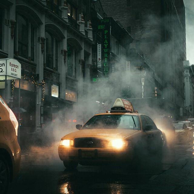 Уличные, ночные и архитектурные фотографии инстаграмера Уэса Тарка -21