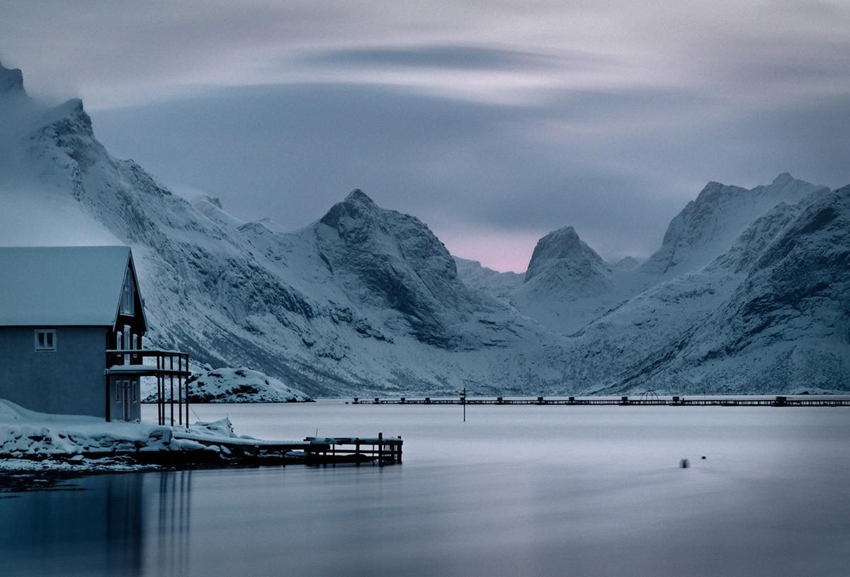 отличительной чертой пейзажи норвегии фото фотография