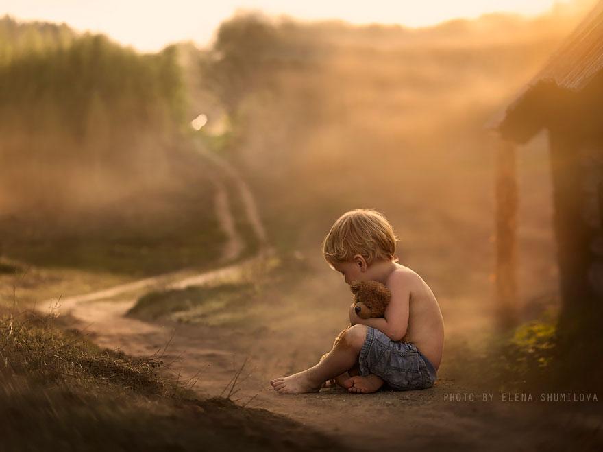 Деревенская идиллия в фотографиях Елены Шумиловой-35
