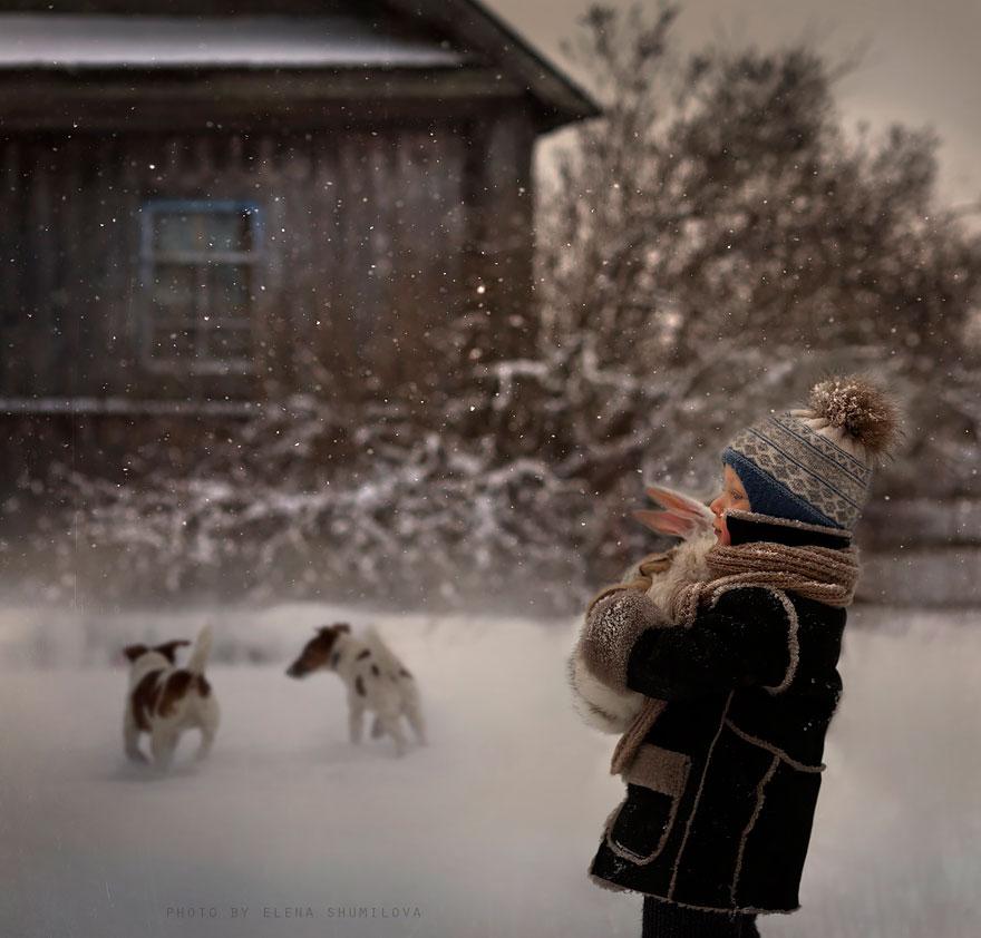 Деревенская идиллия в фотографиях Елены Шумиловой-28