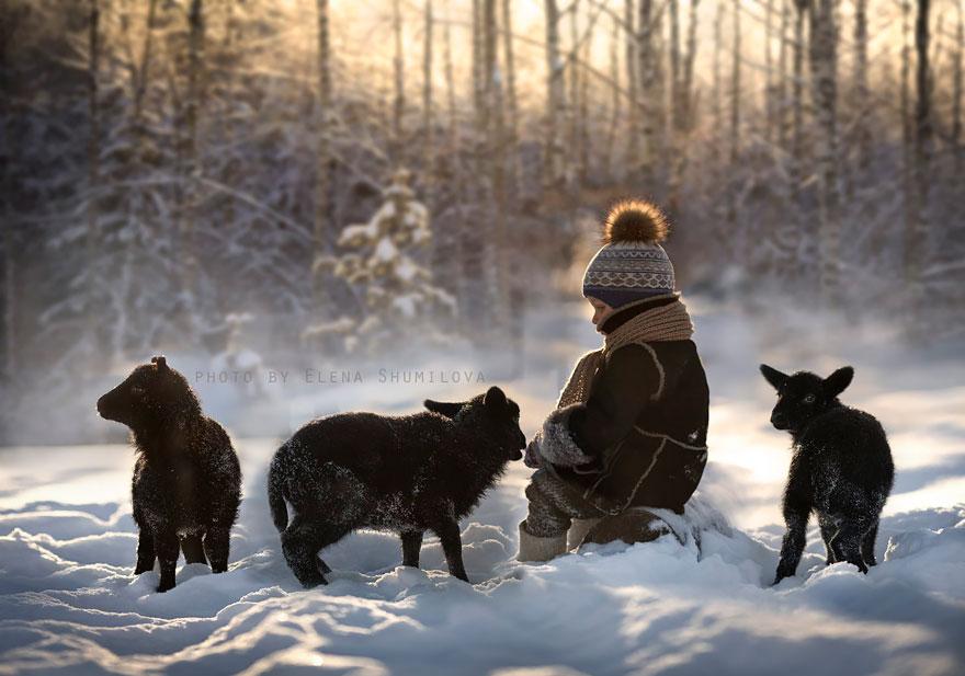 Деревенская идиллия в фотографиях Елены Шумиловой-25