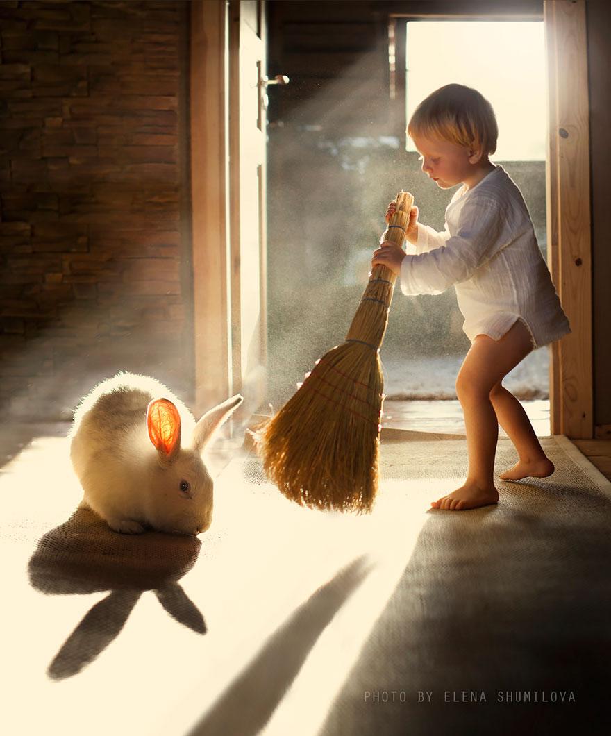 Деревенская идиллия в фотографиях Елены Шумиловой-33