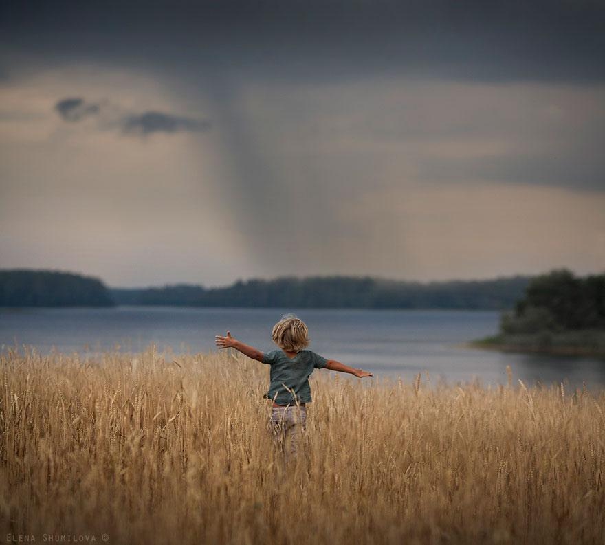 Деревенская идиллия в фотографиях Елены Шумиловой-40