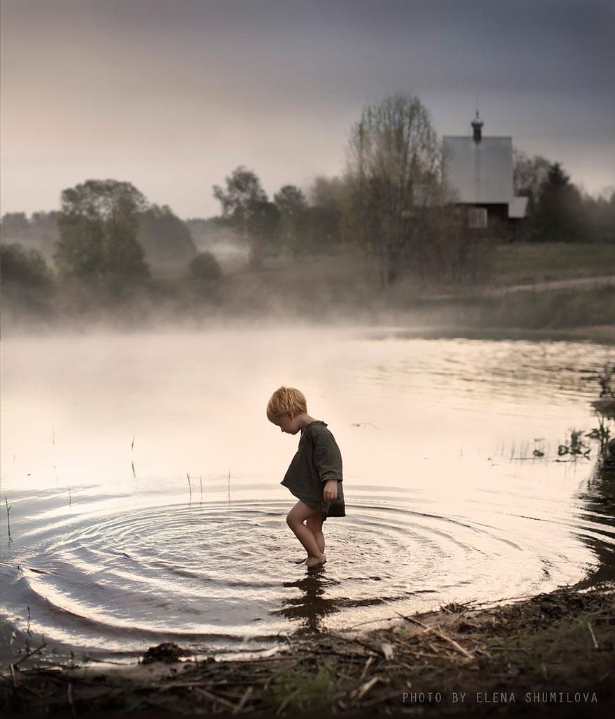 Деревенская идиллия в фотографиях Елены Шумиловой-34