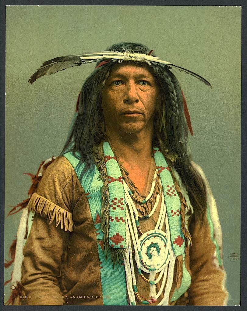 Создатель стрел, индейский народ оджибва, 1903