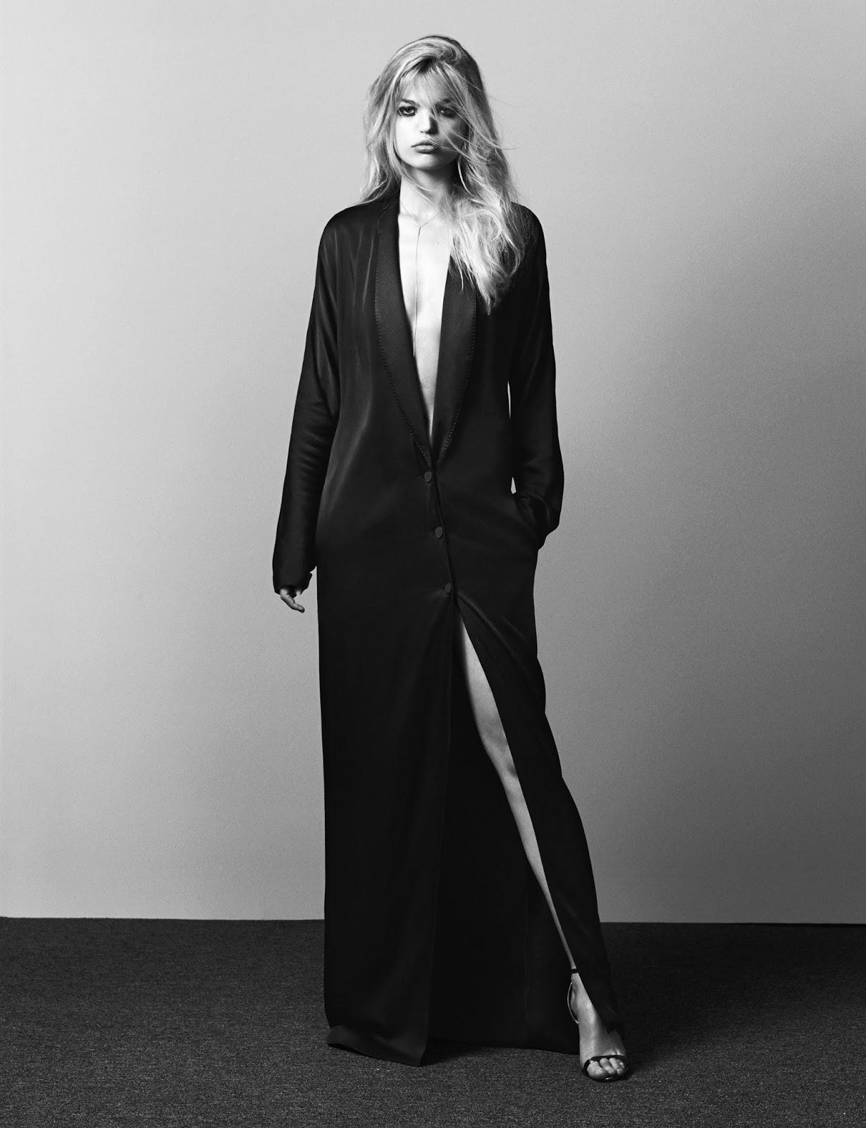 Дикая штучка: Дафна Гроенвельд в фотосессии для журнала The Edit By Net-A-Porter июль 2015
