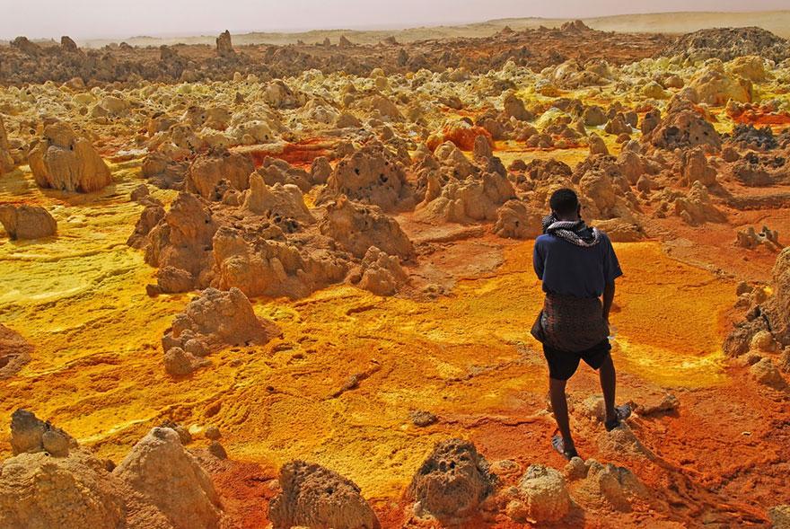 15-40 чудесных мест на Земле с удивительными инопланетными пейзажами