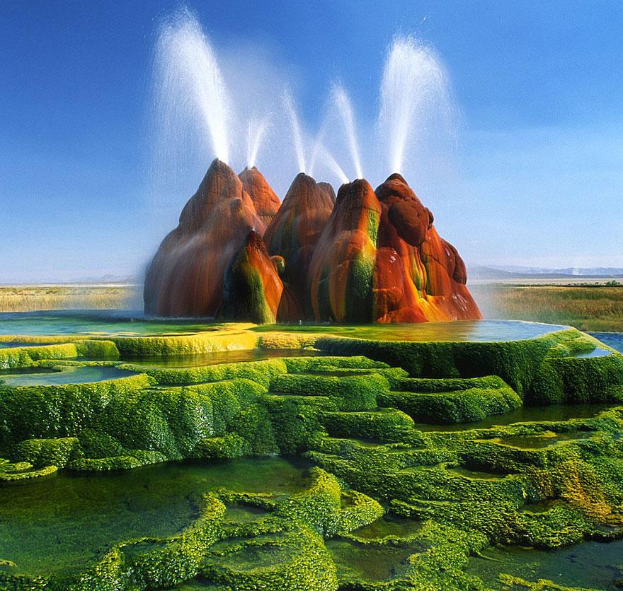 18-40 чудесных мест на Земле с удивительными инопланетными пейзажами