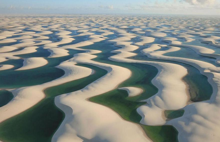 43-40 чудесных мест на Земле с удивительными инопланетными пейзажами