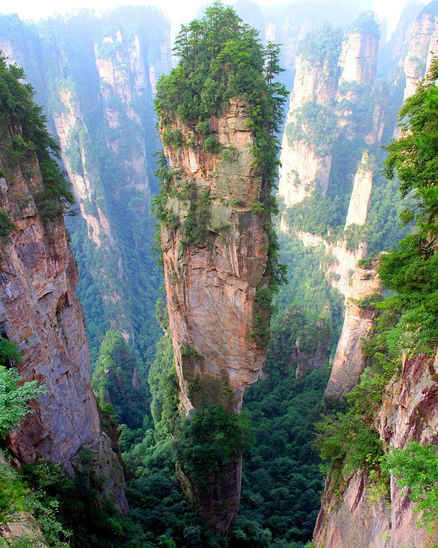 5-40 чудесных мест на Земле с удивительными инопланетными пейзажами