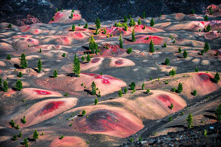 33-40 чудесных мест на Земле с удивительными инопланетными пейзажами